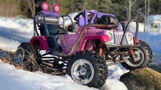 Download Princess Jeep Runs! Custom Bumper and Engine Rebuild Video