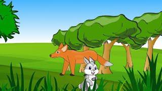 Download સસલું અને શિયાળ - ગુજરાતી બાળ વાર્તા - Saslu ane Siyal - Gujarati Bal Varta (Rabbit and Fox) Video