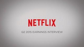 Download Netflix Q2 2015 Earnings Interview Video