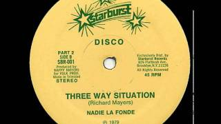 Download Nadie La Fonde - Three Way Situation (1979) Video
