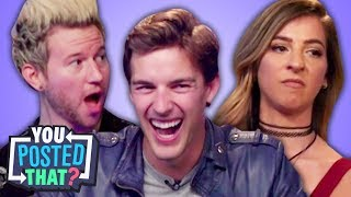 Download MatPat, Gabbie Hanna, and Ricky Dillon | You Posted That? Video