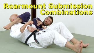 Download Back Attack Answers 5: Rearmount Submission Combinations Video