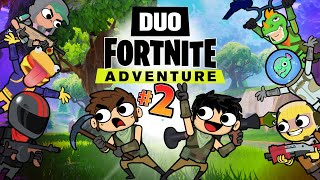 Download DUO FORTNITE ADVENTURE #2 (Animation) Video