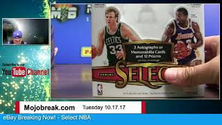 Download 10/17 - 2016-17 Panini NBA Select 6 Box Half Case eBay Break PYT #15 Video