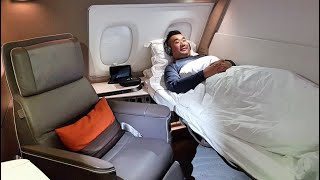 Download The BEST and BIGGEST FIRST CLASS SUITE - Singapore Airlines A380 Video