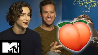 Download Call Me By Your Name: Peach Scene | Behind The Scenes With Armie Hammer & Timothée Chalamet Video