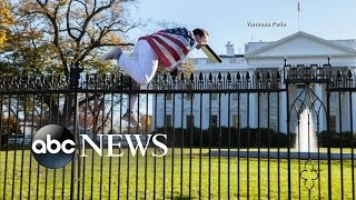 Download White House Lawn Locked Down Over Fence Jumper Video