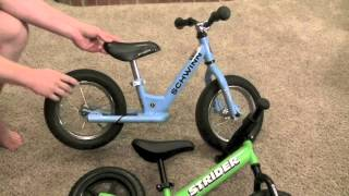 Download Strider Balance Bike vs Schwinn Balance Bike Review Video