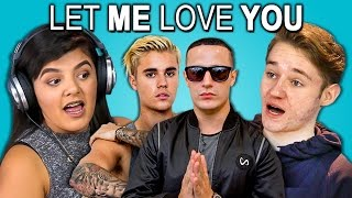 Download TEENS REACT TO LET ME LOVE YOU - DJ Snake Ft. Justin Bieber Video