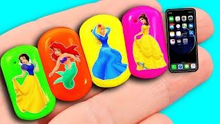 Download 10 DIY Barbie Hacks: Barbie Headphones, Baby Stroller, Ballet Shoes, custom LOL hair and more! Video