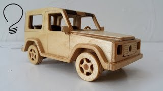 Download Making a Mercedes G-Class out of Wood Video