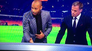 Download Thierry Henry analyses Alexandre Lacazette's debut for Sky Sports Monday Night Football Special Video