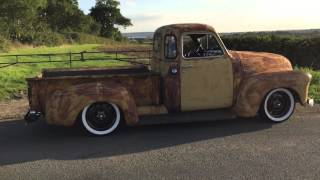 Download 1950 Chevrolet 3100 rat rod / patina truck Video