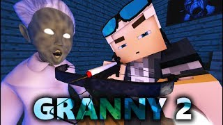 Download GRANNY IN MINECRAFT 2! Horror Game ANIMATION - Day 2 Video