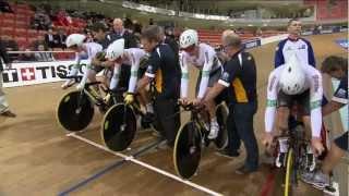 Download Men's Team Pursuit Gold Final - Great Britain v Australia - 2013 UCI World Track Championships Video