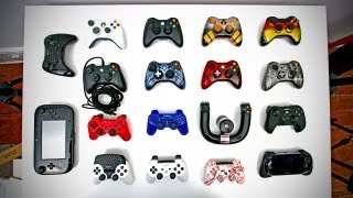 Download Ultimate Controller Collection (XBOX 360, PS3, Wii U, Custom Controllers & More) Video