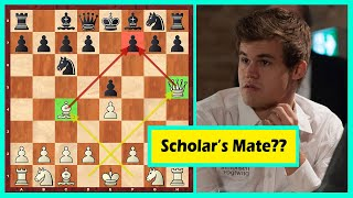 Download Hahaha! Carlsen's Opponent ″Decided″ To Checkmate Him In 4 Video