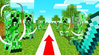 Download You Can ONLY WALK In A STRAIGHT LINE In MINECRAFT! Video