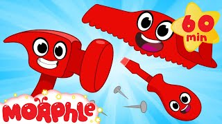 Download Building With Mila And Morphle! Crafts and Creativity Cartoons For Kids Video
