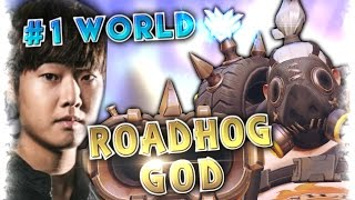 Download Highest Rank Player EVERMORE [5000SR] Roadhog God (91% Win rate) Moments Montage | Overwatch Gods Video