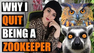 Download I QUIT! Why I Quit My Job As A ZooKeeper | EMZOTIC Video