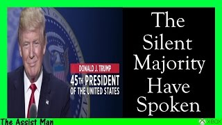 Download The Silent Majority Have Spoken - Donald Trump Elected President Of The Unites States - My Overview Video