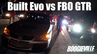 Download Built Evo vs FBO Nissan GTR Video