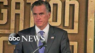 Download Mitt Romney Full Speech: Presidential Debates Didn't Address Key Issues Video