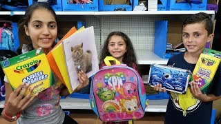Download BACK TO SCHOOL SHOPPING! School Supplies - HZHtube Kids Fun Vlog Video