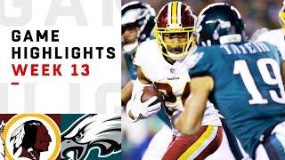 Download Redskins vs. Eagles Week 13 Highlights | NFL 2018 Video