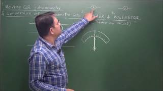 Download Moving Coil Galvanometer (+ Its conversion in to Ammeter and Voltmeter) -Vivek Phalke PHYSICS Video
