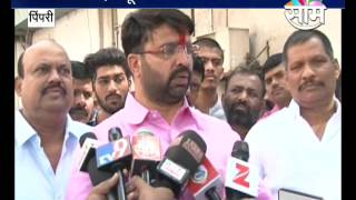 Download Ravi Landge elected unopposed for PCMC Elections.. Good signs for BJP? Video