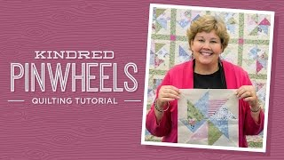 Download Make a Kindred Pinwheels Quilt with Jenny Doan of Missouri Star (Video Tutorial)! Video
