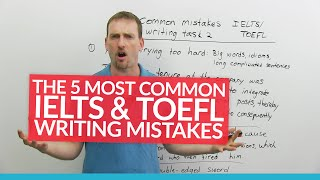 Download IELTS & TOEFL Writing: 5 Common Mistakes Video