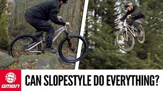 Download Can A Slopestyle Bike Do Everything? Blake Finds Out... Video