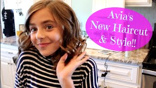Download Avia's New Haircut & Style!! Video