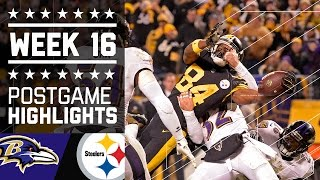 Download Ravens vs. Steelers | NFL Week 16 Christmas Game Highlights Video
