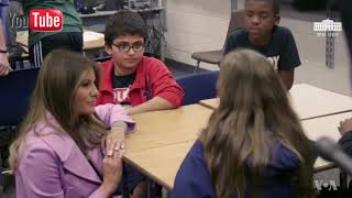 Download Melania Trump Continues 'Be Best' African Tour Video