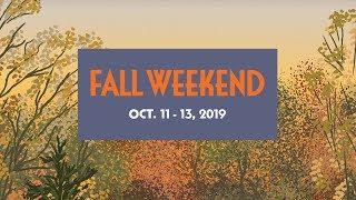Download Fall Weekend 2019 Video
