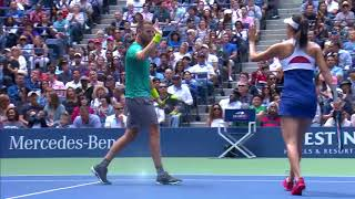 Download WATCH: Highlights Hingis / Murray def. Venus / Chan to win 2017 US Open Mixed Doubles Championship Video