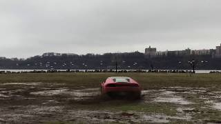 Download Lamborghini Huracan Does donuts in mud !! Video