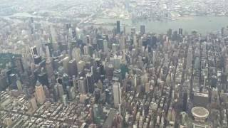 Download Best Landing Ever - United 737-800 Flying over NYC Manhattan Central Park into LGA Laguardia Video