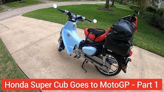 Download ROADTRIP: Super Cub goes to MotoGP 2019! (Part 1) - Ride to Austin, TX Video