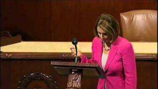 Download ″I Will Not Yield to You!″ Speech by Rep Nancy Pelosi Video