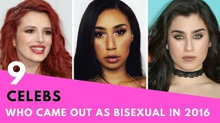 Download 9 Celebrities Who Came Out As BISEXUAL In 2016! Video
