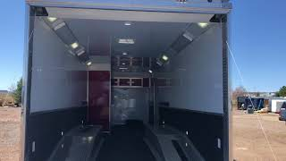 Download Amazing Trailer with race ramps and winch! Enough said.... Video