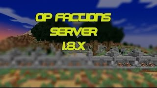 PREMADE MINECRAFT FACTIONS SERVER! w/DOWNLOAD!!!! Free Download