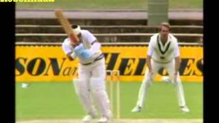Download Sunil Gavaskar 166* vs Australia 1st test 1985/86 Adelaide Video