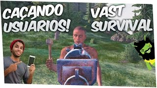 Download 🔴Vast Survival Caçando Usuários com Metralhadora Gameplay Android Video