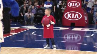 Download Sixers Kid Dunk Contest Video